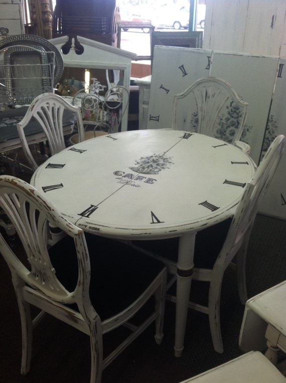 Items Similar To Vintage Duncan Phyfe Hand Painted Shabby