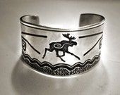 Moose Cuff bracelet