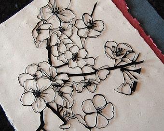 Cherry Blossom Papercut