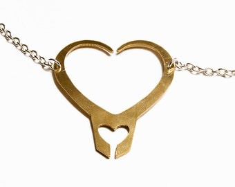 Loki Hearts pendant necklace Loki'd Hiddlestoners