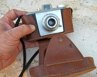 Vintage Kodak Pony 828 Camera with case