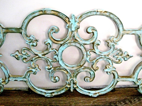 Large Architectural Wall Decor : Large wrought iron gate architectural salvage wall decor