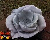 Concrete Rose Yard Art and Bird Feeder