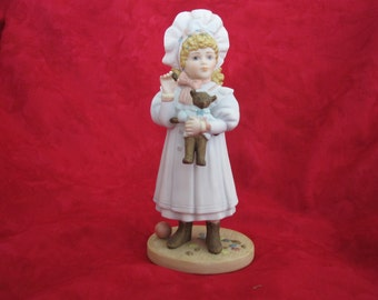 Jan Hagara Victorian Figurine Fall Megan S20612 Original Box,2237 out of 7500, signed, 1992