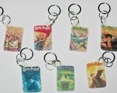 Harry Potter Book Cover Stitch Markers