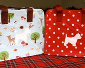 Westie or Scottie MINI BAG   -   please state colour required.  They can be done without Westie or Scottie