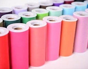 "PREORDER: Tulle roll 6""x25yds (75') choose your colors combine and save on shipping"