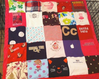 Custom Baby Onesie Quilt (deposit only) **Order by 10/15 GUARANTEED for XMAS**
