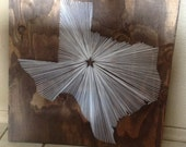 20x20 - State String Art - Texas - Wall Hanging - Home Decor