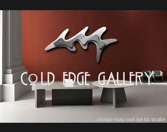 Office Large Art, Corporate Metal Wall Art, Wall Art, Abstract, Corporate Art, Metal, Wall, Art, Unique, Zen