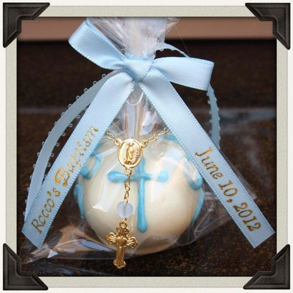 Cake Pop Centerpieces For Baptism : Elegant Baptism Cake Pops