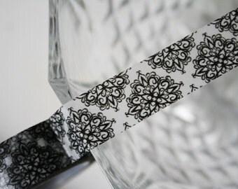 Black Pattern Washi Tape