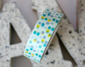 MT Blue Tile Washi Tape