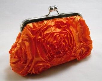Summer Orange...small clasp purse