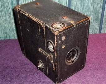Vintage Kewpie No. 2A Black Box Camera by Conley Camera Company