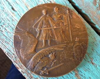 French Bronze War Medal