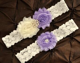 garter toss garter lavender wedding garter belt lavender garter