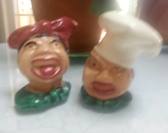 Black Americana - Highly Collectible S & P Shakers