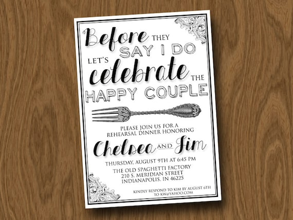 Diy Rehearsal Dinner Invitations correctly perfect ideas for your invitation layout