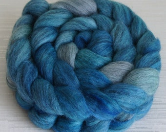 Grey Merino Top  - Roving for Spinning and Felting