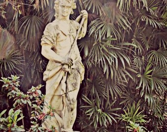 "Photograph ""Garden Woman Statue""- 8x10, Print Only"