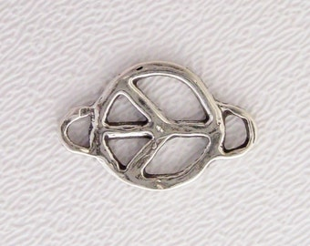 ONE Artisan Peace Link in Sterling Silver