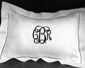 Linen Monogrammed Decorator Pillow- Perfect for the Home