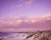 Kalbarri Nature Photography, Fine Art, Beach, Sunset, Sky, Pink, Purple, Moon, Home Decor, Western Australia