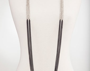 Bold Statement Necklace, Harness, Body Jewelry Chain, Multi-Option cCoss Body Harness, Body Chain