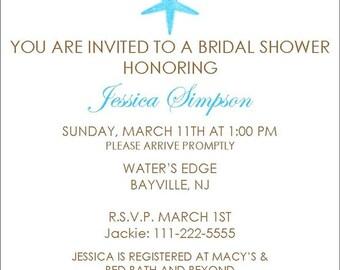 Bridal Shower Invite Item 00125