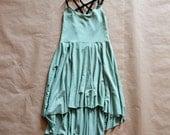 Twirling Cascade Dress