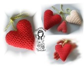Crochet PATTERN, Valentine, Heart, 3D, DIY Pattern 26
