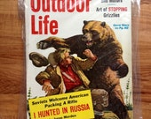 Vintage Outdoor Life February 1960 Bear Fishing Hunting