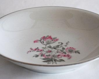 Embassy USA Vitrified China Pattern EMB 63 Side Salad Dessert Bowl