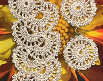 PDF File Queen Ann's Lace and Earring  Pattern