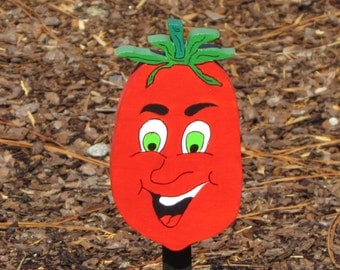 Vegetable Garden Marker - Parker Plum Tomato