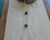 "Triple Tahitian Pearl ""Y"" Necklace"