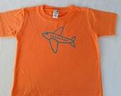 Little Flyer Airplane Toddler T-shirt
