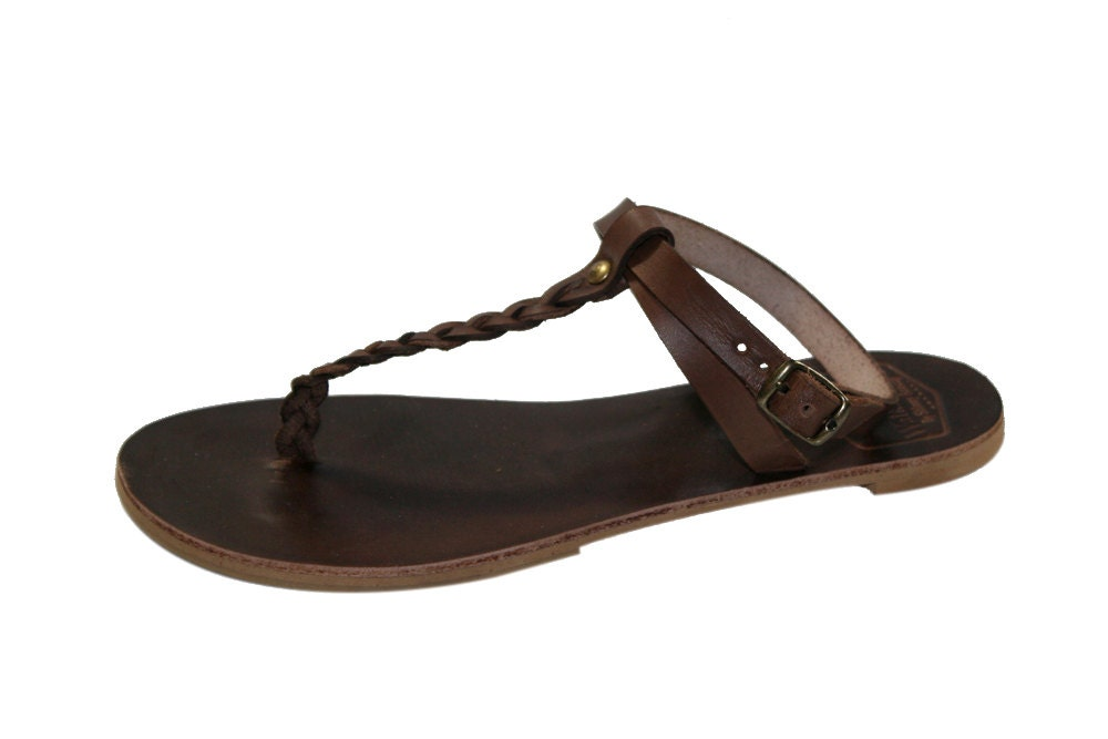 Model Women39s Leather Sandals Gt Franciscan Gt Women39s Brown Leather Fl