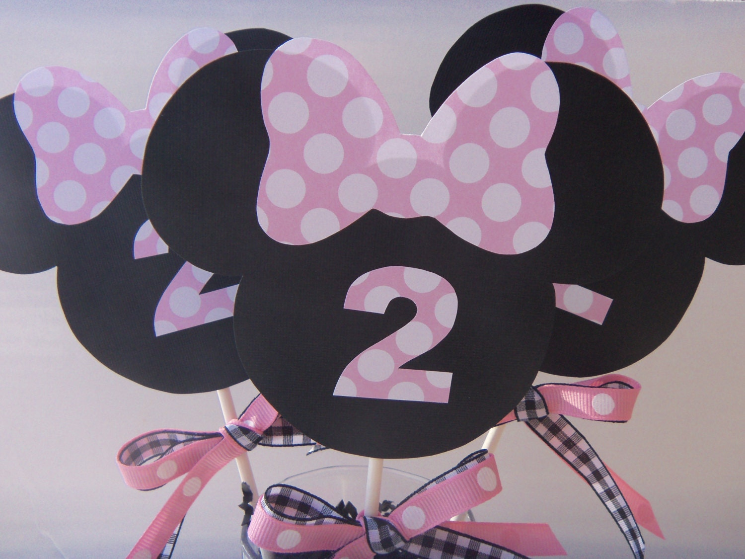 Popular items for minnie mouse topper on Etsy
