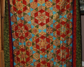 Red Curry quilt