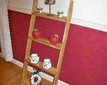 Leaning Ladder Shelf, For A Limited Time Only!