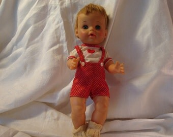 Vintage Baby Boy Doll by Ideal Toy Co.