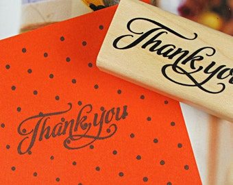 Blessing Stamp -- Rubber Stamps -- Diary Stamps -- Thank you 3
