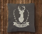 Love is Brave - (Grey)