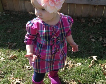 Large Flower Headband for Babies and Toddlers
