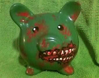 zombie piggy bank
