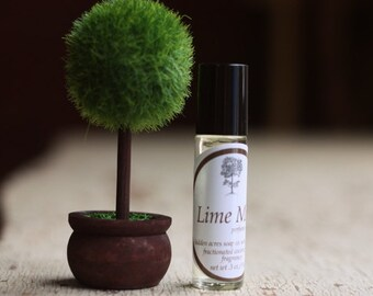 Lime Mint Perfume Oil - Essential Oils - Natural