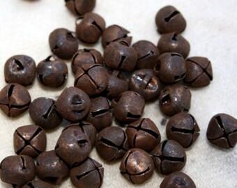 """Rusty Bells - 24 Bells - 6 mm or 1/4"""""""
