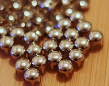 200pcs 3/16inch(5mm) Silver Round Studs metal Studs rivet Buttons 4 claws nailheads Shoes cloth Punk accessories